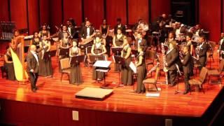 HBCU NBDC 2017 Howard University Concert Band