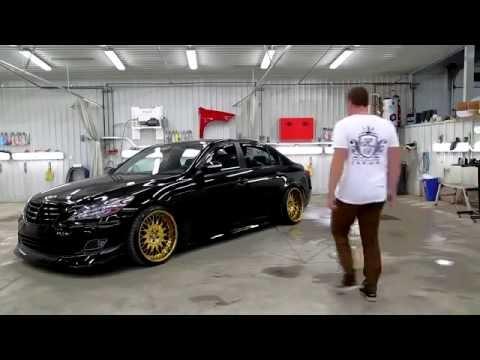 Stanced Hyundai Genesis Vip Kdm Youtube