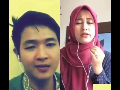 Smule Hasbi Qomarun Merdu Sekali duet Santriwati Cantik Merdu
