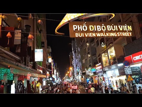 The Guide To Ho Chi Minh City's Bui Vien Walking Street - Saigon Today 2017