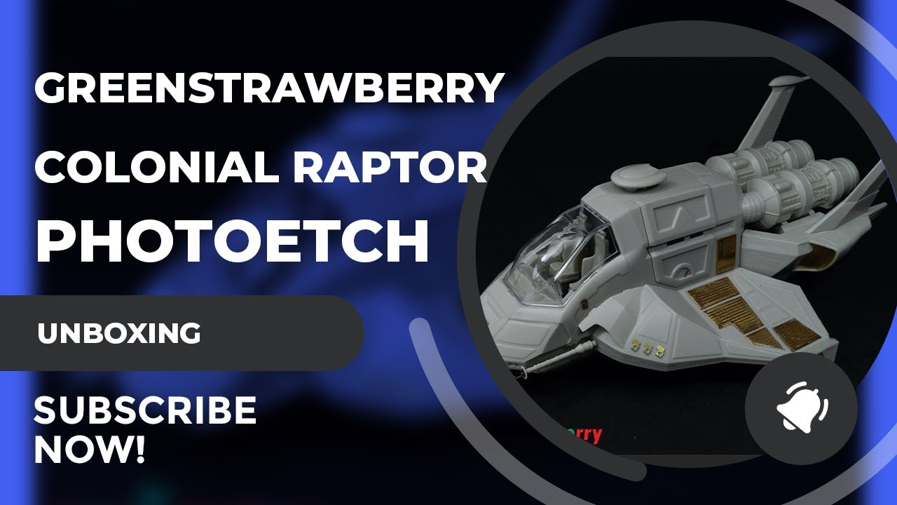 Greenstrawberry: Moebius Models 1/32 Scale Colonial Raptor PE Set Review