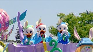 [nephews] Hippity-hoppity Springtime Parade 2014 (tokyo Disneyland)