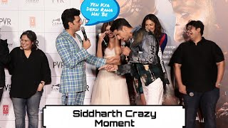 Siddharth And Ritiesh HILARIOUS Moment At Marjaavaan Trailer Launch