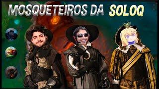 OS TRÊS MOSQUETEIROS DA SOLOQ (ft. Jukes e WilianBonner)