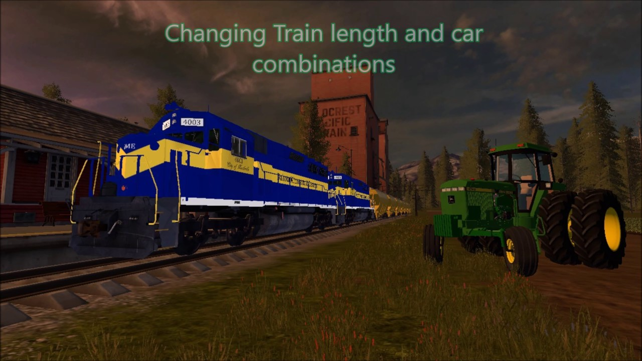 how to drive a train