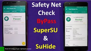 Download video Safety Net Check/CTS Profile Mismatch ByPass using SuperSU & SuHide