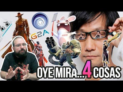 Oye mira 4 cosas - Battleborn, Ubisoft y NX, Sony y Kojima, G2A