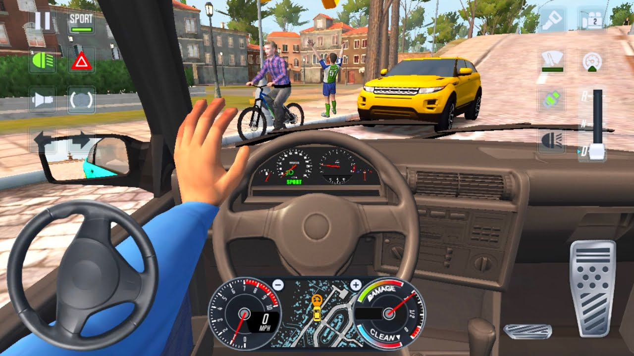 Taxi Sim 2020 🚖🚘 CAR GAME BMW UBER DRIVER - Car Games 3D Android iOS Gameplay New Game Cars Full