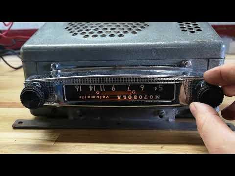 Motorola Volumatic 395-12 Under The Dash 12v AM Radio
