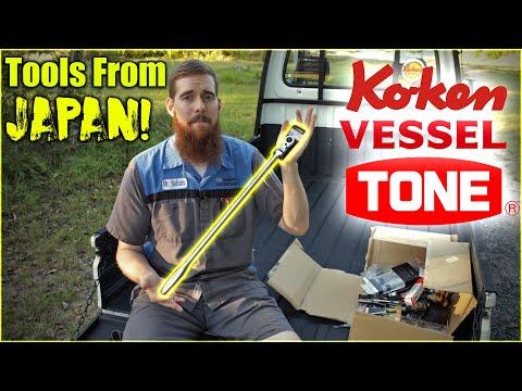 Tools From Japan - TONE, Vessel, & Ko-ken Tool Haul #5