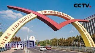 [中国新闻] 上海自贸试验区新片区总体方案拟定 | CCTV中文国际
