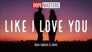 Nico Santos & Topic - Like I Love You (Audio)