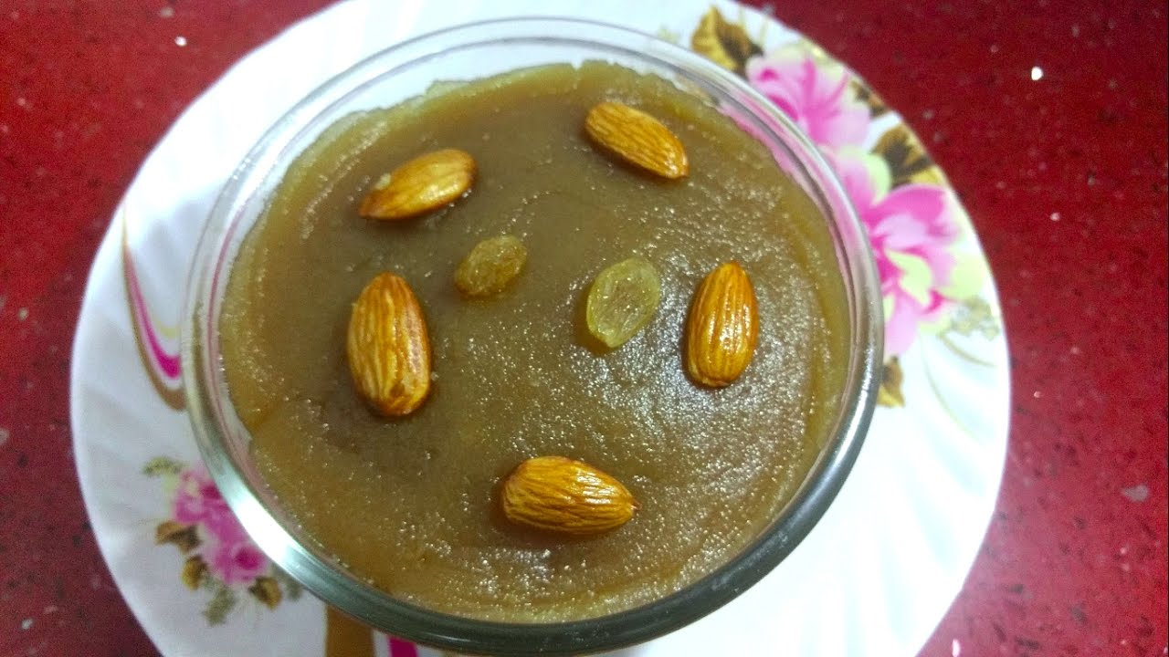 how to prepare halwa at home