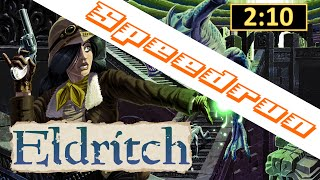 Speedrun: Eldritch Any% in 2:10 Minutes RTA / 2:00 Minutes IGT World Record