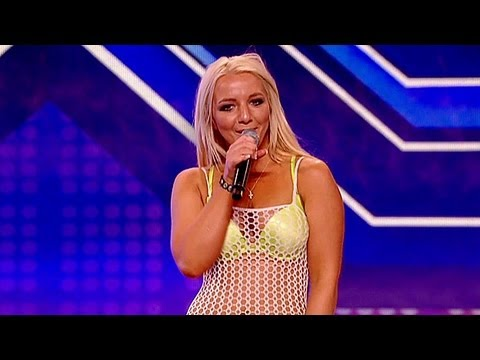 Lorna Blisss audition - Britney Spears Till The World Ends - The X Factor UK 2012