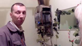 видео Почему не загорается колонка при включении воды: причины, устранение проблемы » Аква-Ремонт