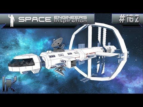 Space Engineers Inspiration - Episode 162: USS Wanderer, Siemragl Freighter, Graf Zeppelin