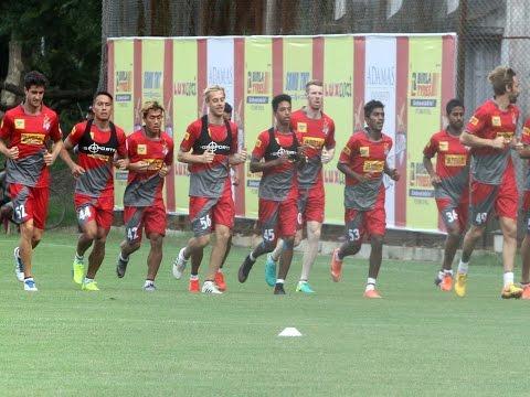 ISL Season 3: The first training session of Atletico de Kolkata
