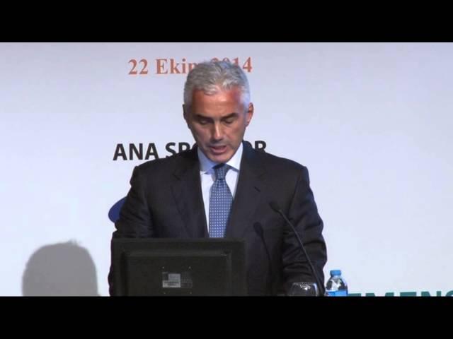 TÜSİAD Yönetim Kurulu Başkanı Haluk Dinçer'in Konuşması - STEM Zirvesi - 22 Ekim 2014