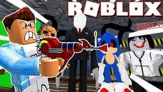 roblox   tm sng hạ gục kẻ st nhn ở area 51 survive and kill the killers in area 51   kia phạm
