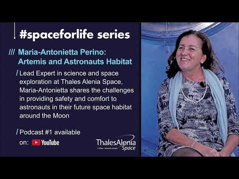 #Podcast: the Moon, ARTEMIS and astronauts habitat