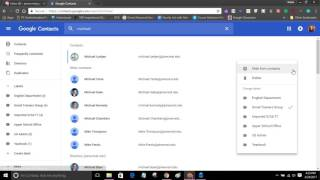 Creating Mail Lists in Gmail