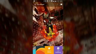 Best Android 3D wallpaper app Marvel Avengers Infinity war collection Orero  to lollipop support