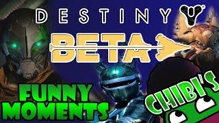 Destiny Beta Funny Moments Part 2 Multiplayer, Beetleborgs, Secret Ball, Tree Climbing, Spider Tank!