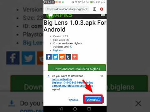 How You Can Download Big Lens With Out Any Payment.!!