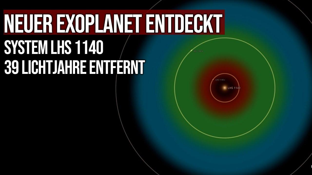 Neuer Exoplanet entdeckt - System LHS 1140 - 39 Lichtjahre entfernt