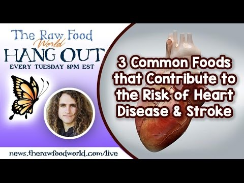 Hangout: 3 Common Foods that Contribute to the Risk of Heart Disease & Stroke