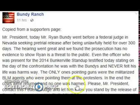 Bundy Family Demands POTUS Donald Trump Pardon Everyone In #OregonStandOff #BundyRanch
