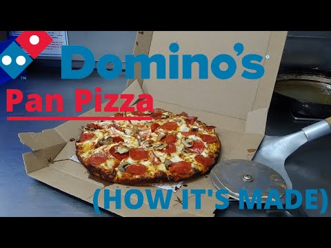 Domino's Pan Pizza (HOW IT'S MADE)