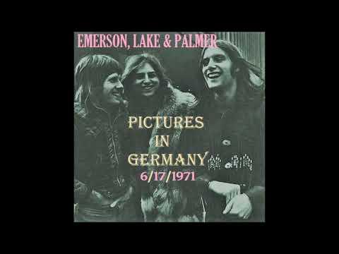 Emerson, Lake & Palmer (ELP) Live in Karlsruhe, Germany 6/17/1971