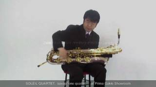 Our Guest Artist #10 Michihiro Kobayashi from Soleil Quartet - at Prima Gakki Showroom