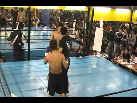 2.27 オープニングファイト第2試合 斉藤武雄vs鮫島力