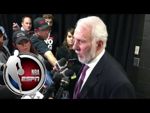 Gregg Popovich: If I was a San Antonio fan tonight, I'd ask for my money back | NBA on ESPN