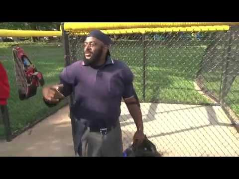 Watch: Outrageous umpire puts on a show with third strike calls
