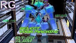 Cyber Troopers Virtual-On Oratorio Tangram - Sega Dreamcast - Ajim playthrough [HD 1080p]