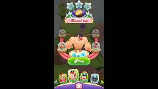 Candy Crush Friends Saga level 50 yeti mode
