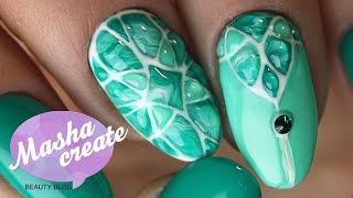 Маникюр с Натуральной текстурой на ногтях. Дизайн ногтей