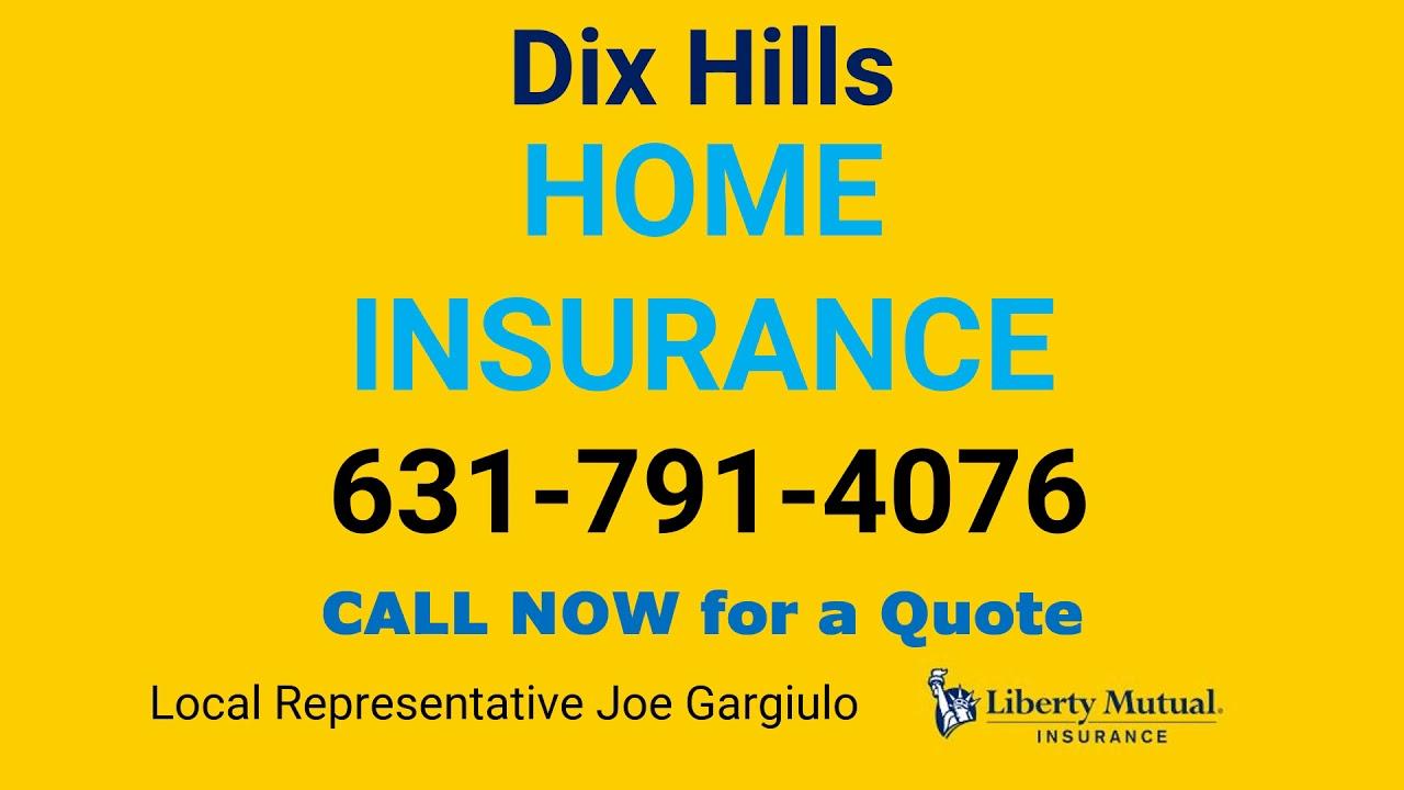Dix Hills Home Insurance 631-791-4076 - YouTube