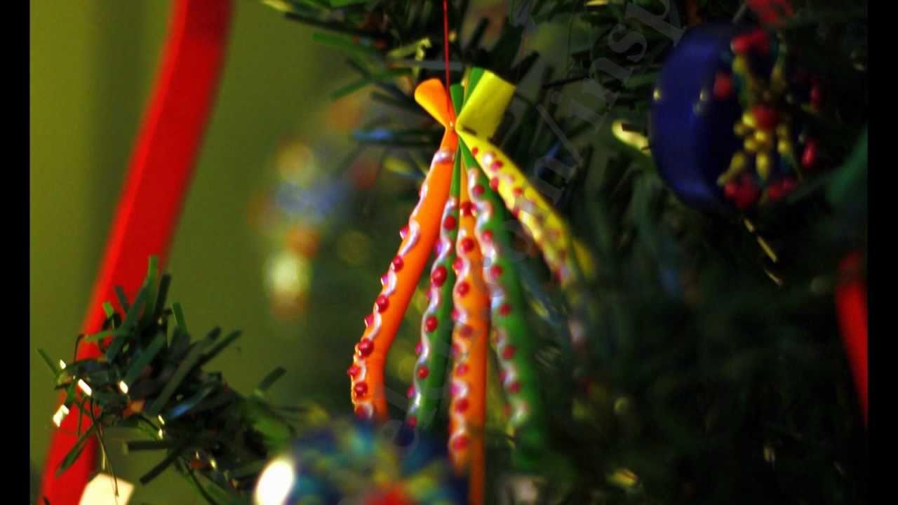 cmo hacer adornos navideos con pajitas recuerda que las para regalar