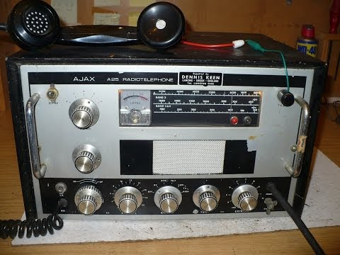 A look at the Ajax A25 Marine MF Radiotelephone.