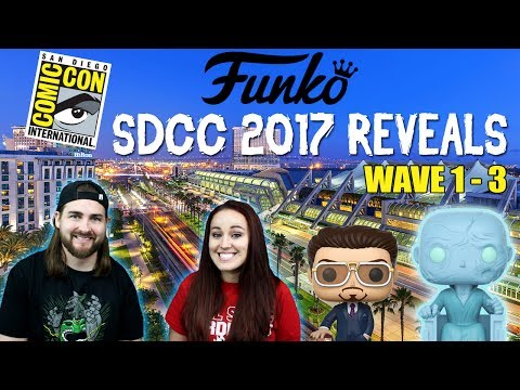 SDCC 2017 Funko Exclusives Wave 1- 3