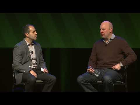 Fireside Chat with Marc Andreessen and Ali Ghodsi Marc Andreessen Andreessen Horowitz and Ali Ghodsi