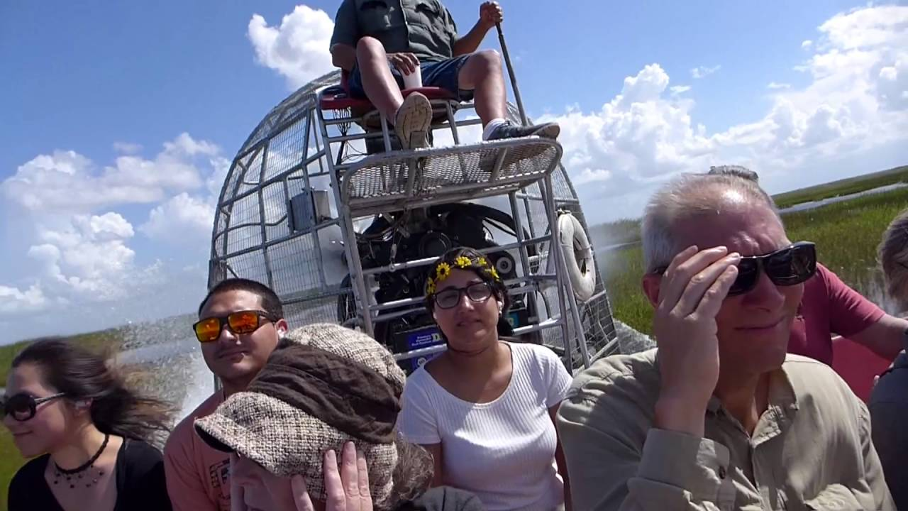 Miami Florida Everglades Airboat Ride Hd 2016 Youtube