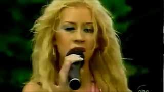 (HD) Christina Aguilera - I Turn To You Live @ (Teen Hot People 25)