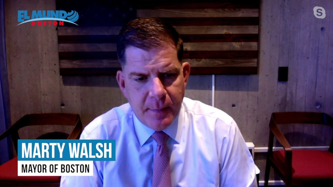 2021 Latino Career Expo -  Mayor Marty Walsh invites you