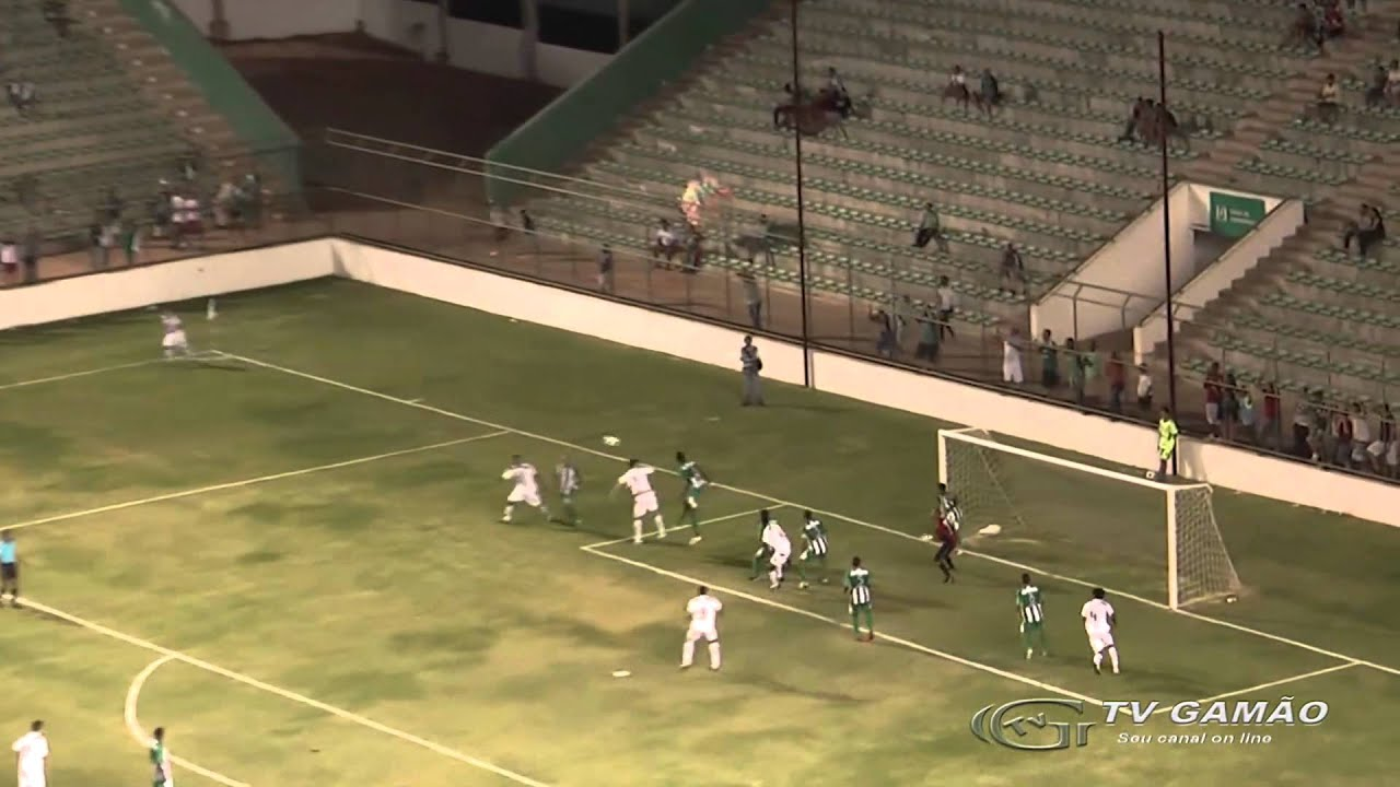 Gama 2x1 Tocantinópolis - Campeonato Brasileiro Série D 2011
